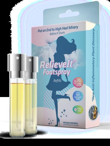 relieveit footspray refills - spraingo llc